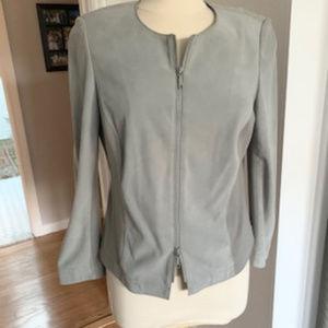 Lafayette 148 suede jacket